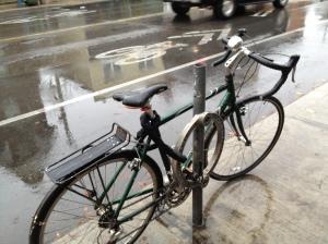 Harbord Street rain