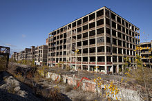 Abandoned Packard Automobile Factory