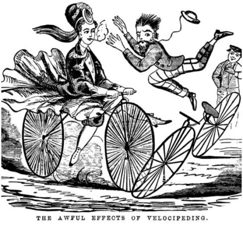 The Awful Effects of Velocipeding